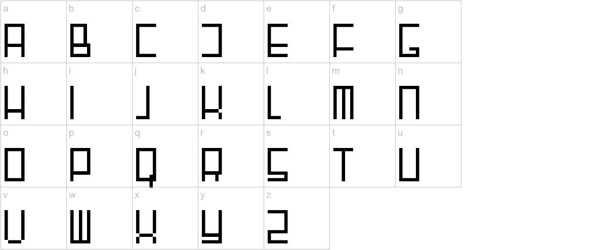 Fair N Square lowercase