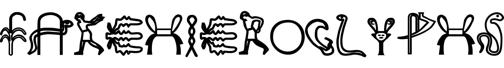 FakeHieroglyphs
