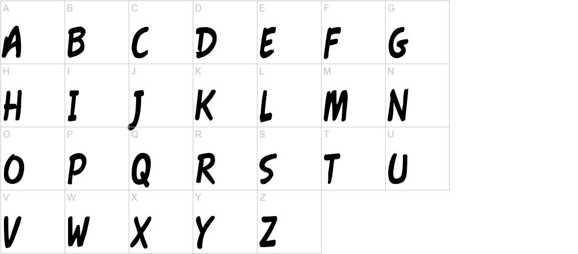 Fawn Script uppercase