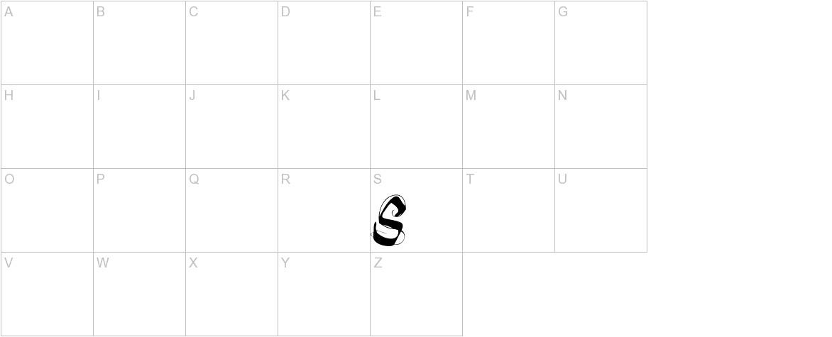 fonts-lab Symphony uppercase