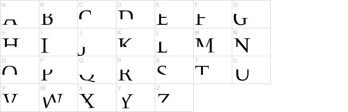 Fragmenta uppercase
