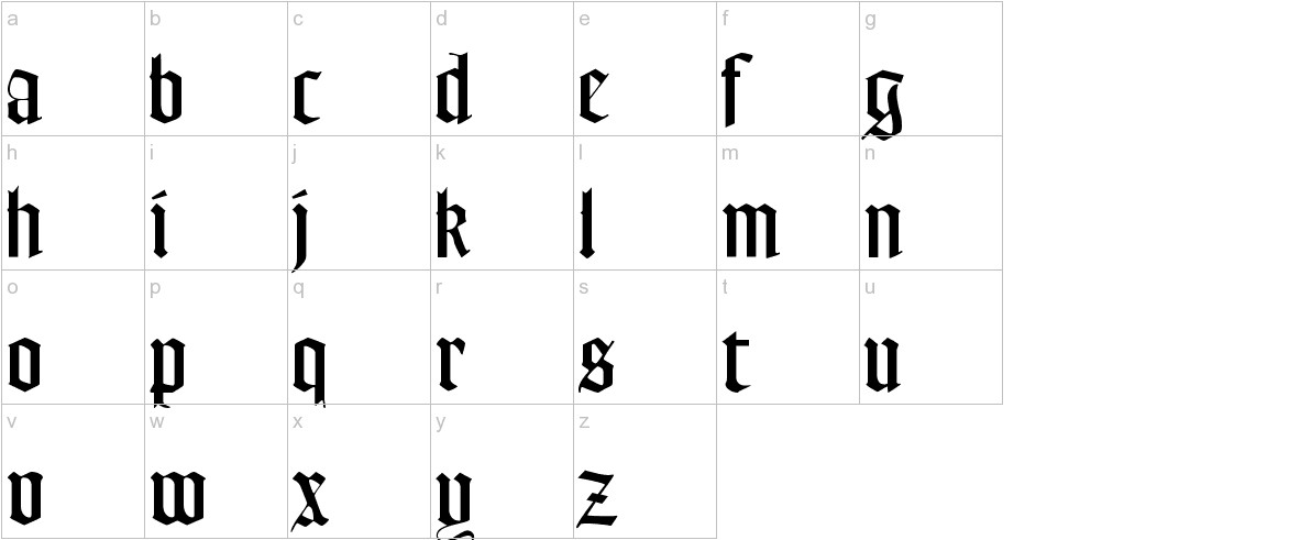 FrederickText lowercase