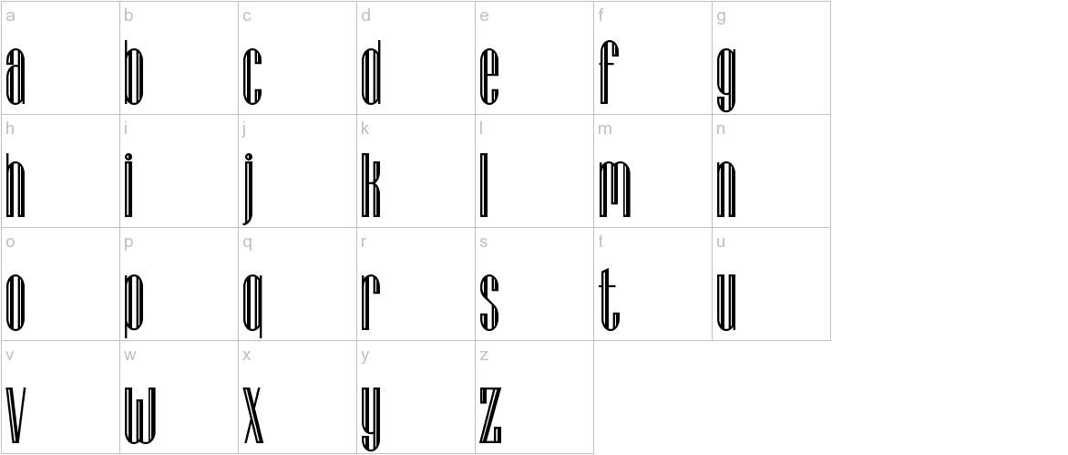 Lagniappe-Inline lowercase