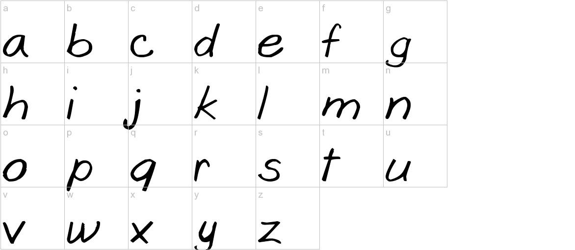 Goobascript lowercase