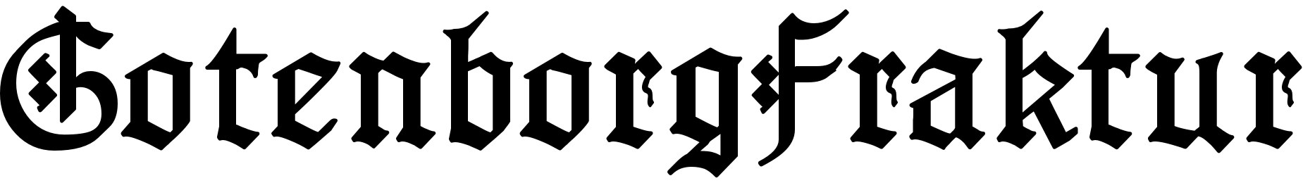 GotenborgFraktur