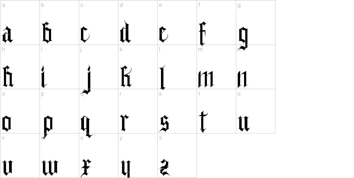gothferatu lowercase