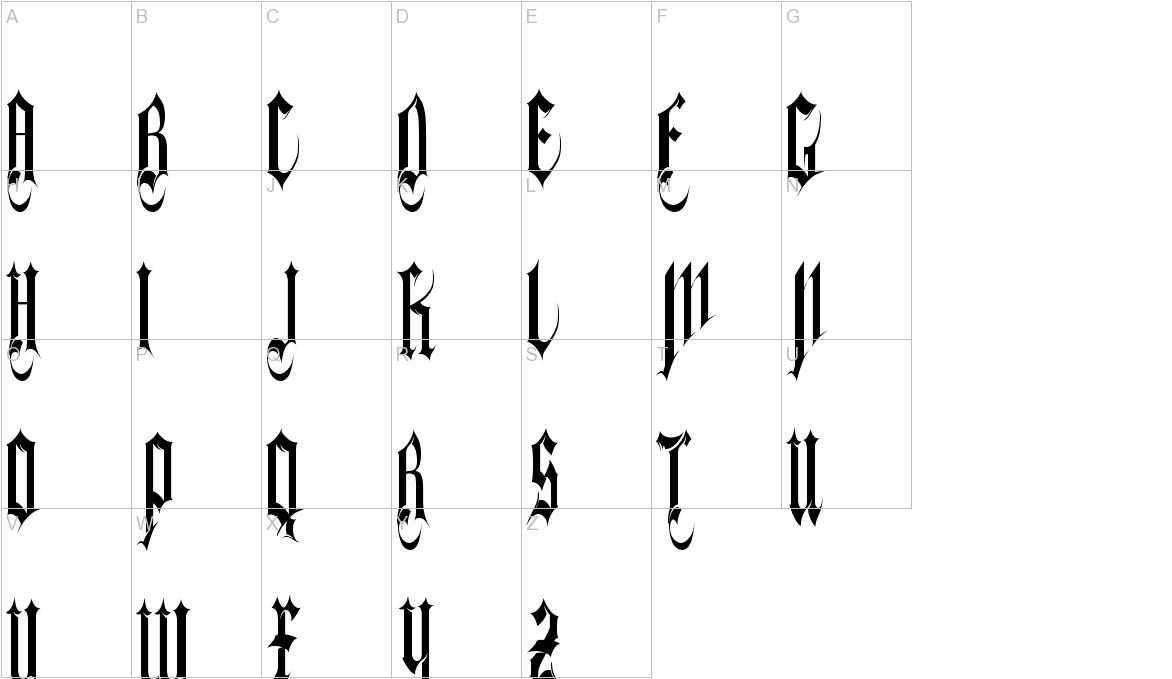gothferatu uppercase
