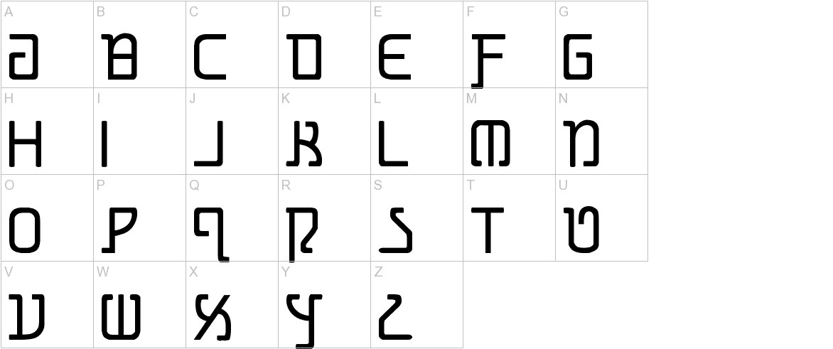 Grimlord uppercase