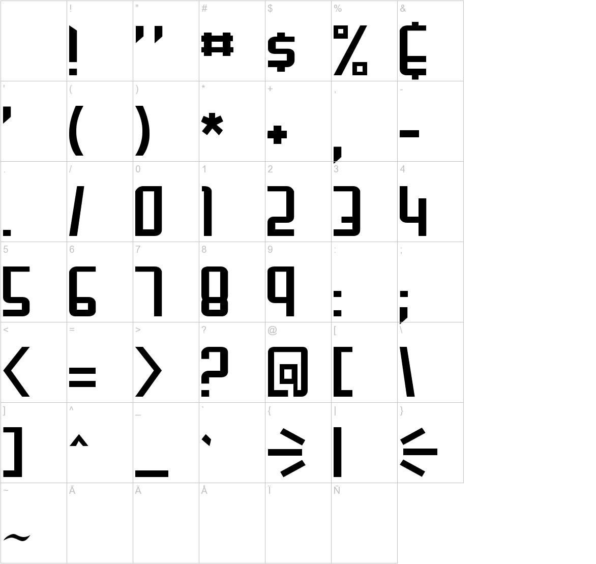 Gunblade characters