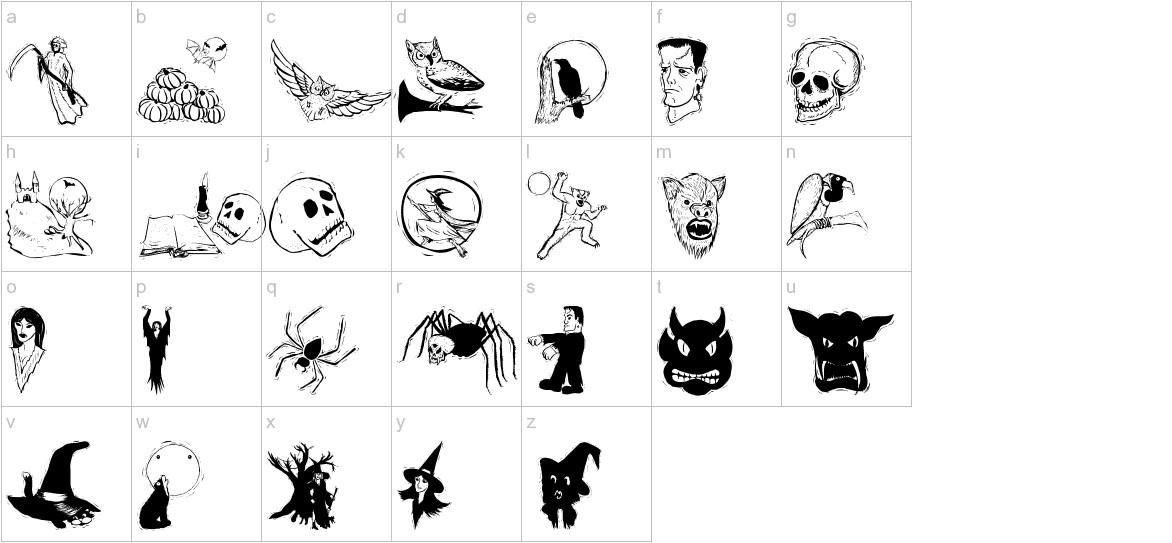 HalloweenTwo lowercase