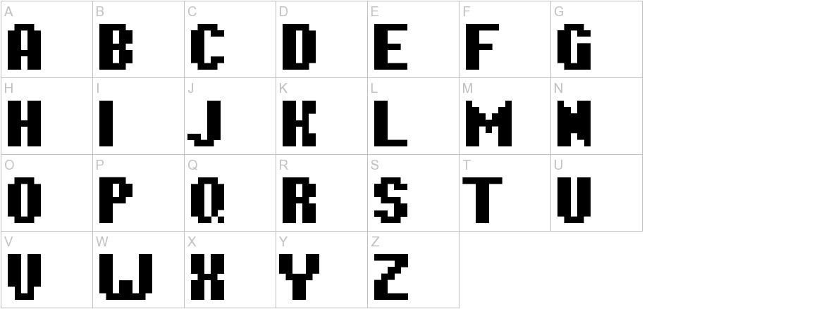 Hardpixel uppercase