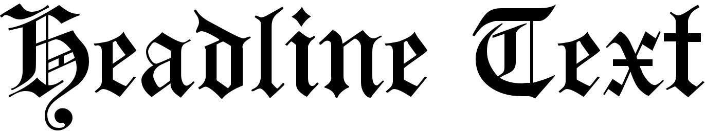 Headline Text