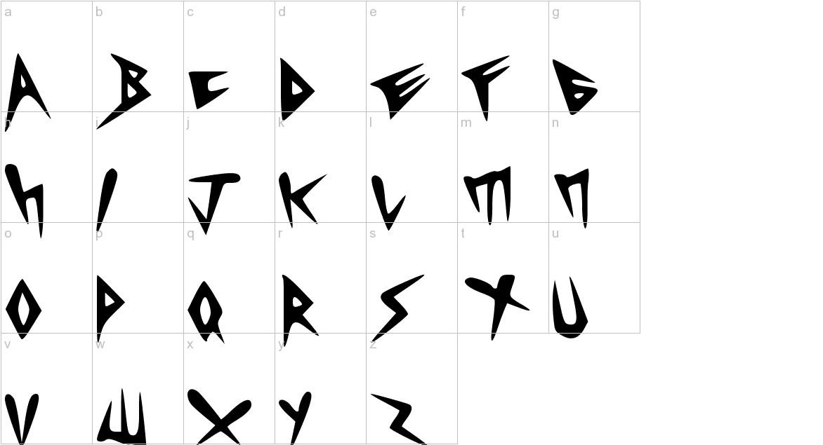 HEAVYCRIST lowercase