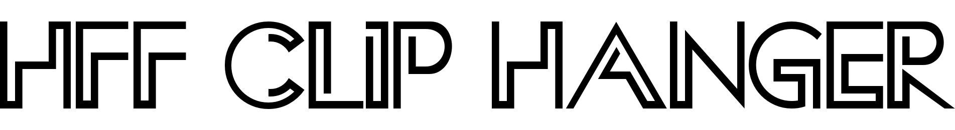 HFF Clip Hanger