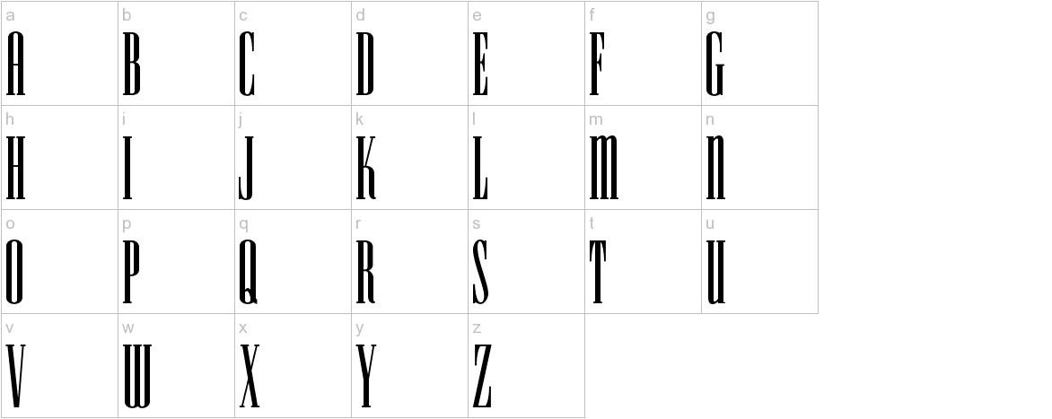 HFF Iconic Ionic lowercase