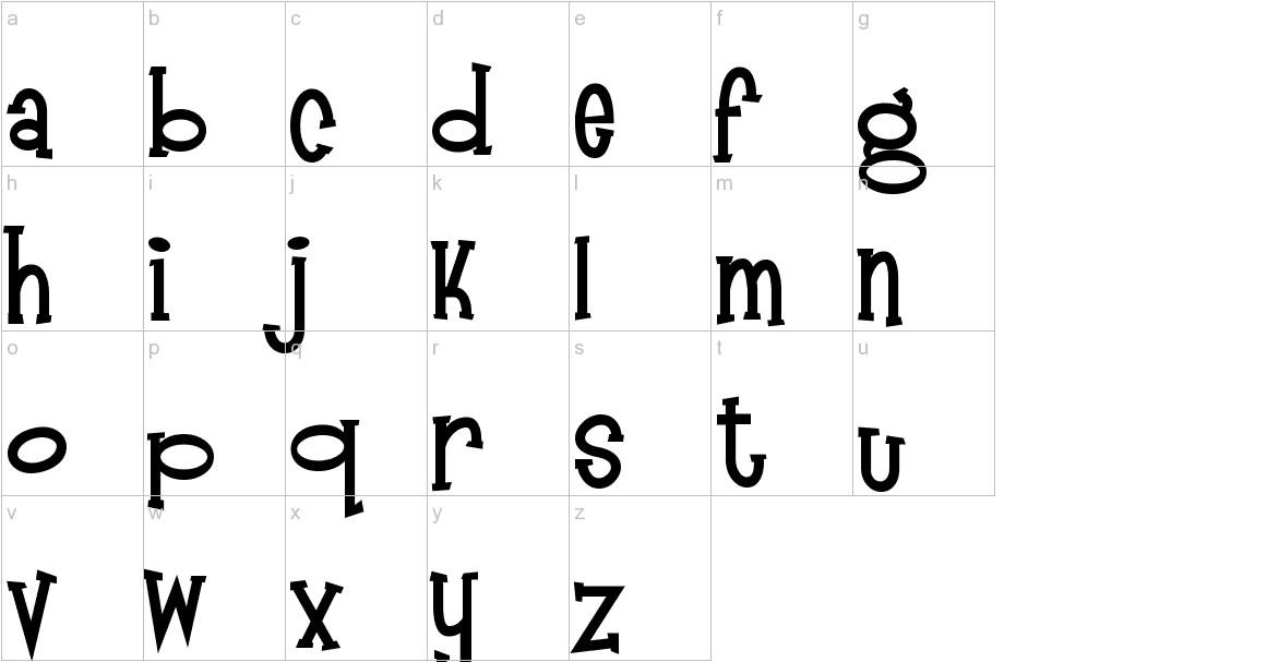 Mandingo lowercase