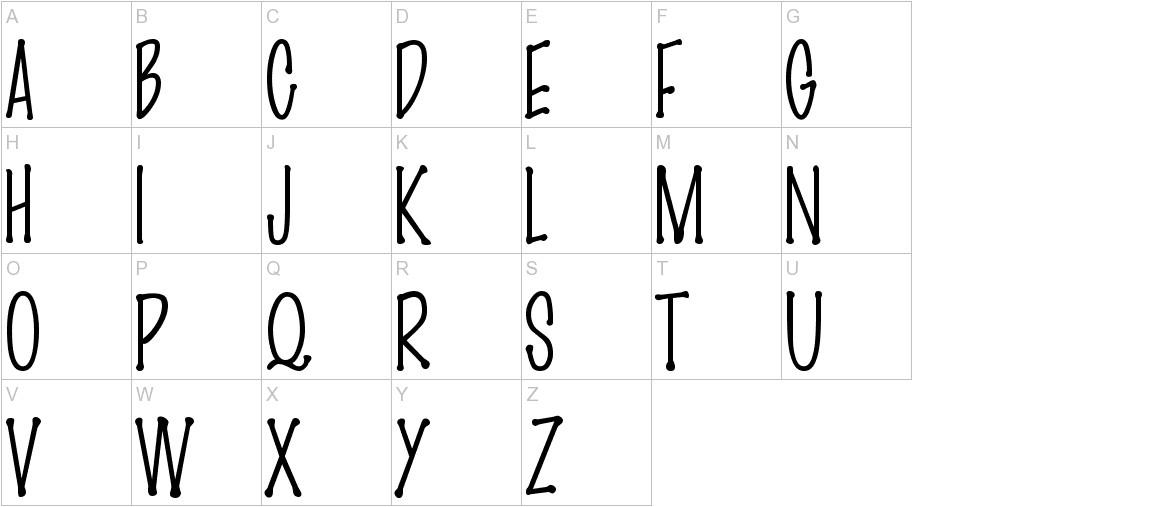 MarkerFinePoint-Plain uppercase