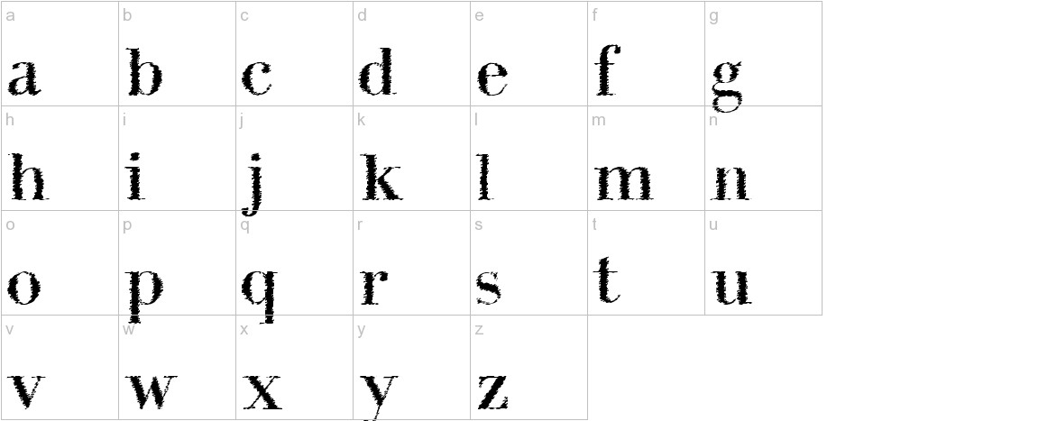 IntellectaBodoned Trash lowercase