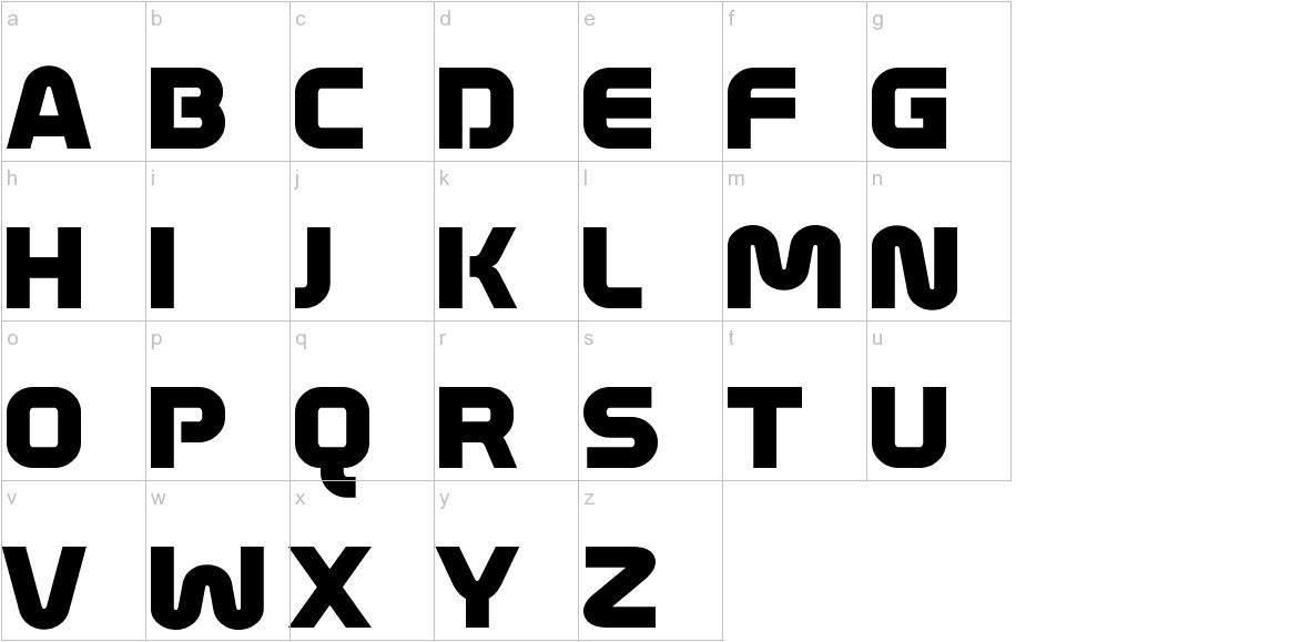 Mathmos Original lowercase