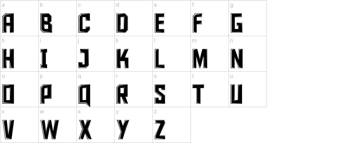 Iron Sans lowercase