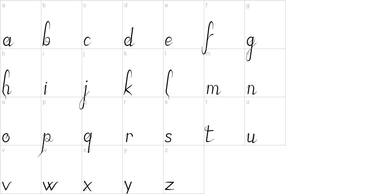 JBElegant lowercase