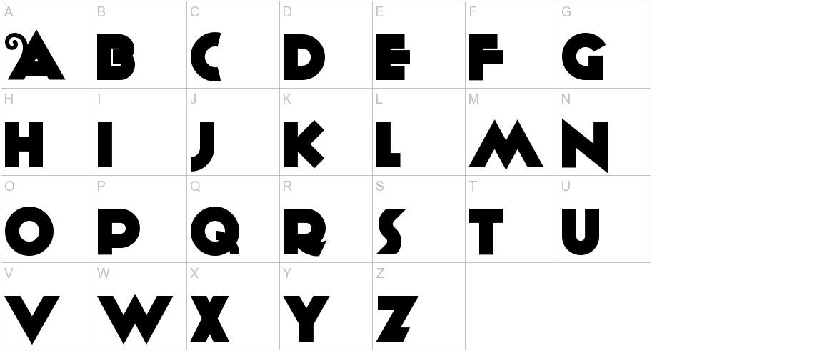 Anagram uppercase