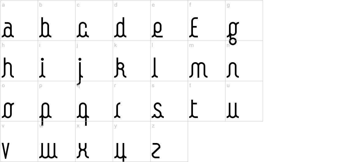 Kamalo lowercase