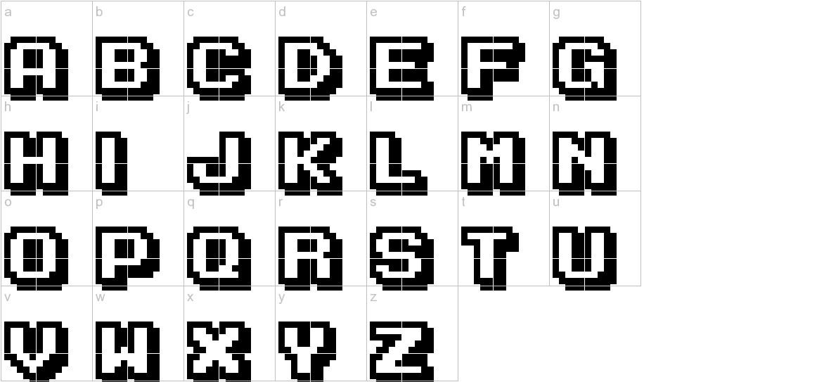 Karmatic Arcade lowercase