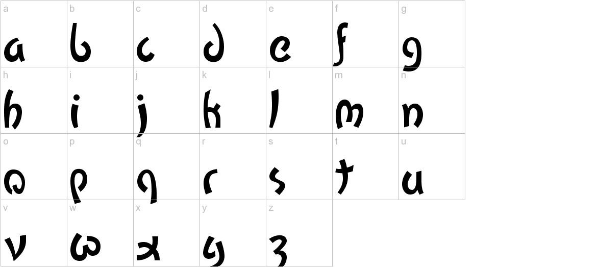 Kato lowercase