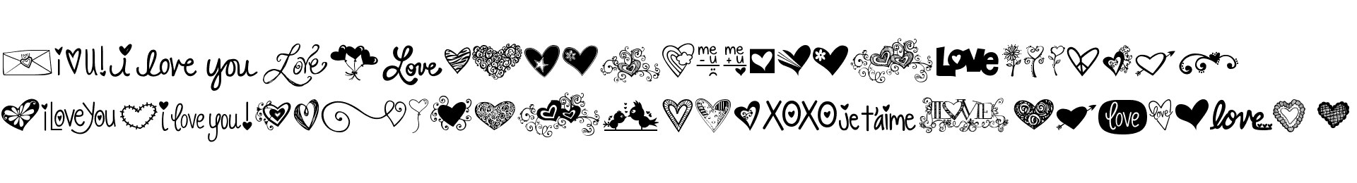 KG Heart Doodles
