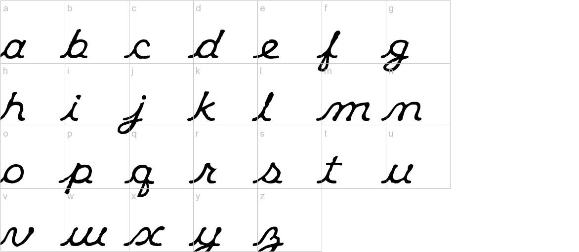 Klee CapScript lowercase