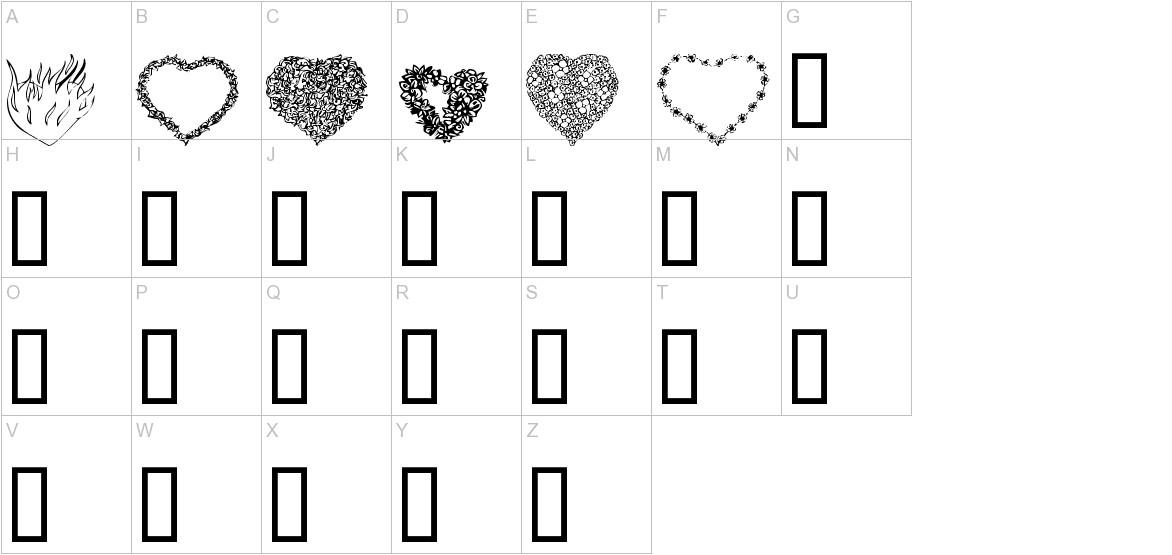 KR Valentines 2006 Eight uppercase