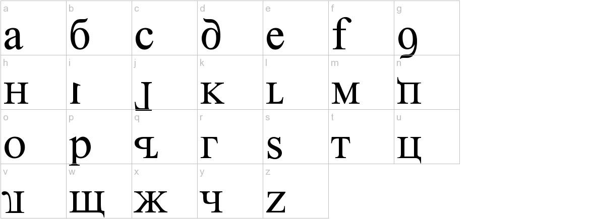 Kremlin Premier lowercase