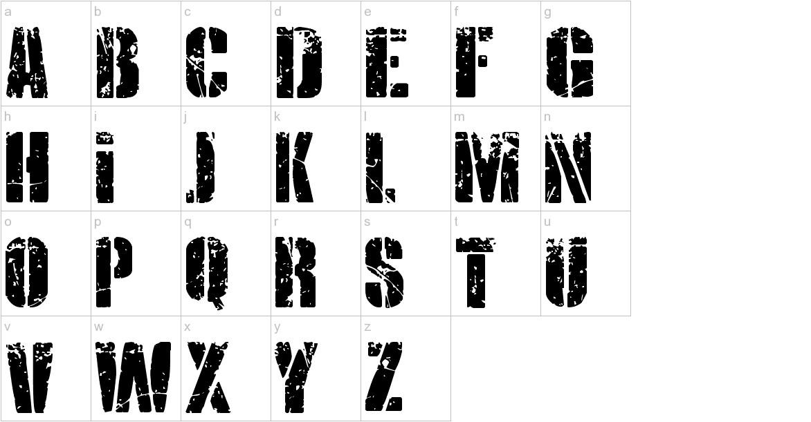 KRIPTON B lowercase