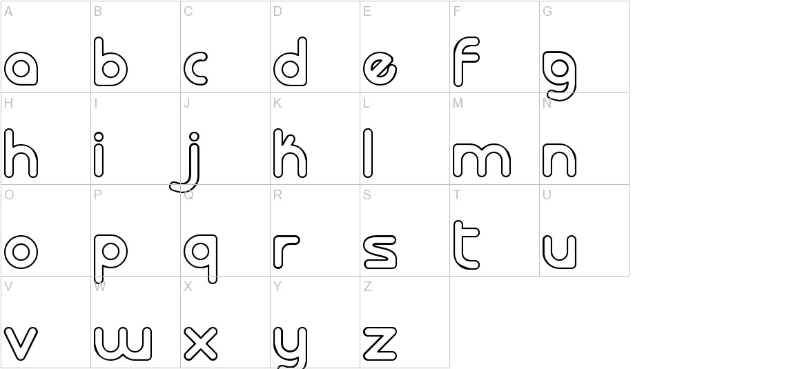 laloted uppercase