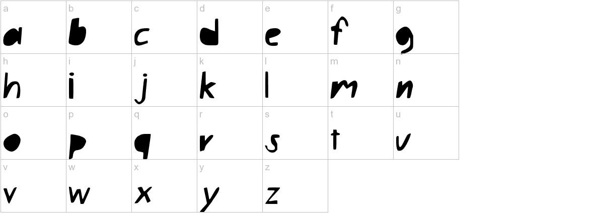 LazyBlock lowercase