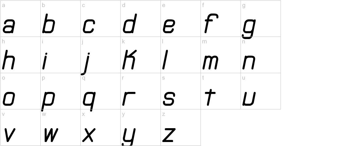 Neural (BRK) lowercase