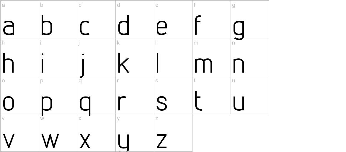 Lintel lowercase