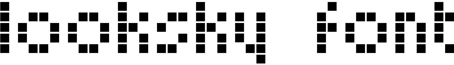 Looksky Font