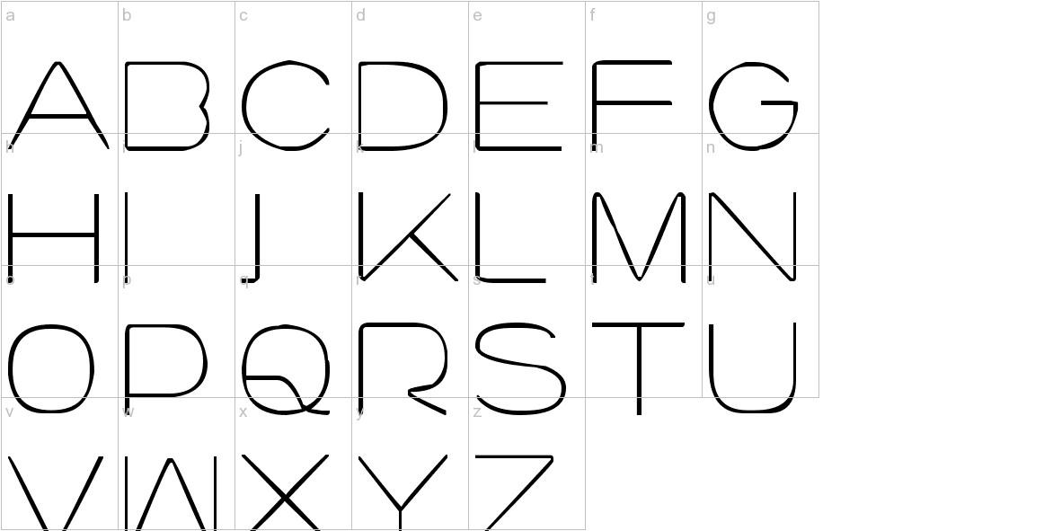 lourod lowercase
