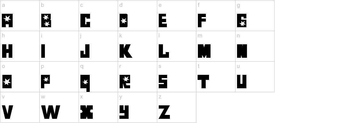 Luchitas lowercase