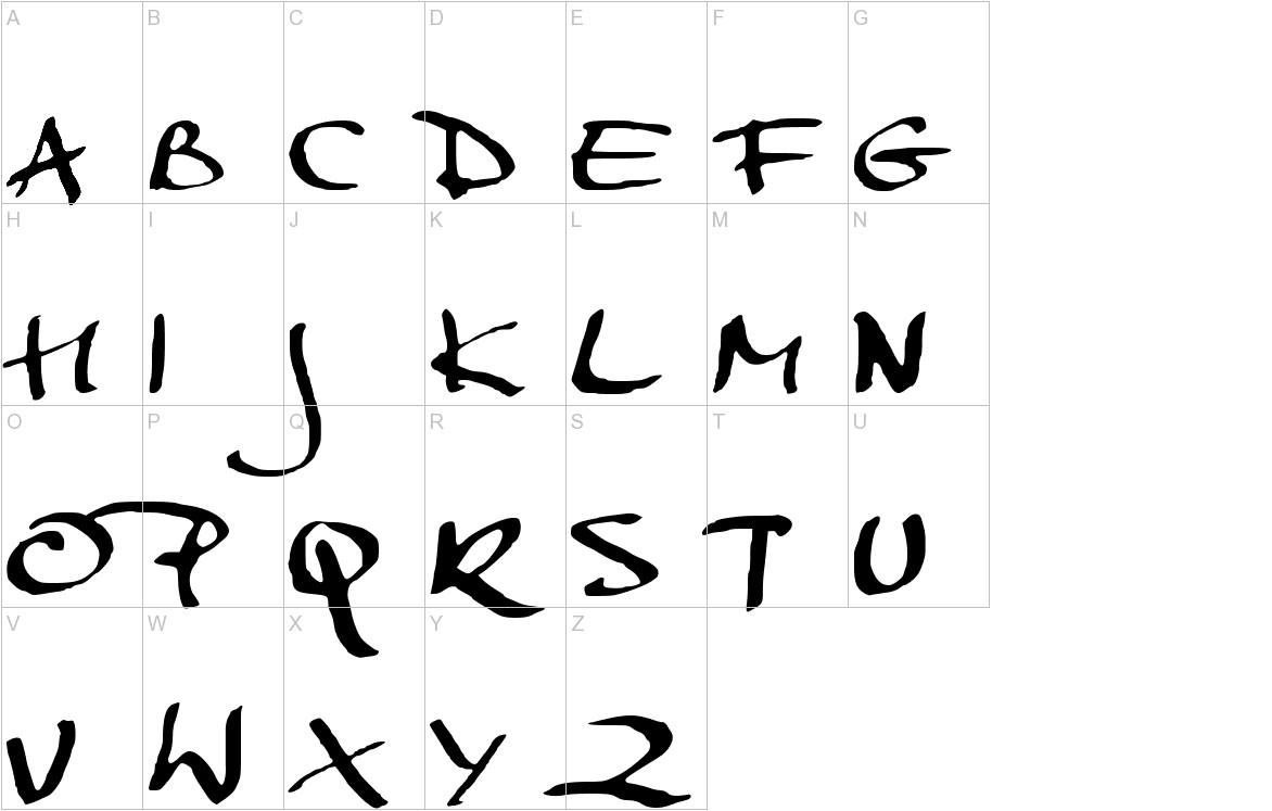MarkerScript uppercase