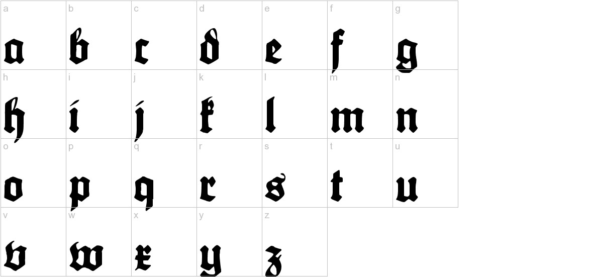 Maximilian lowercase