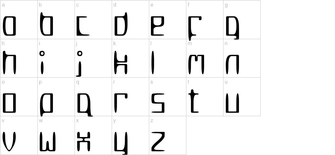 MetroSlum lowercase