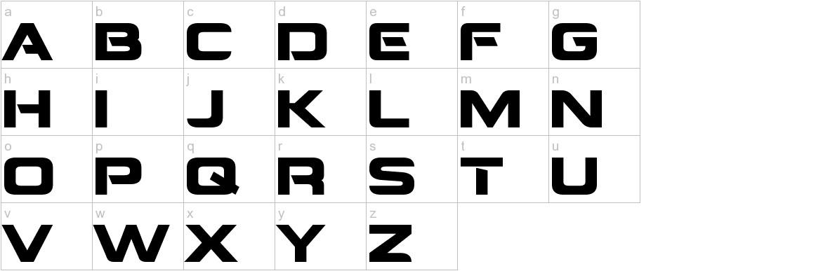 Montalban lowercase