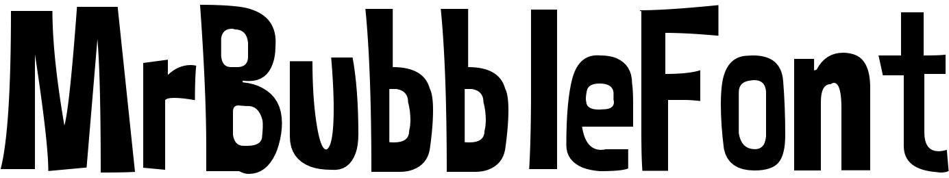 MrBubbleFont