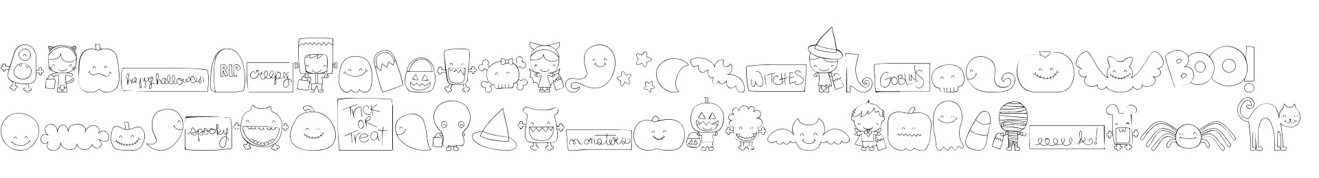 MTF Sweet Halloween Dings