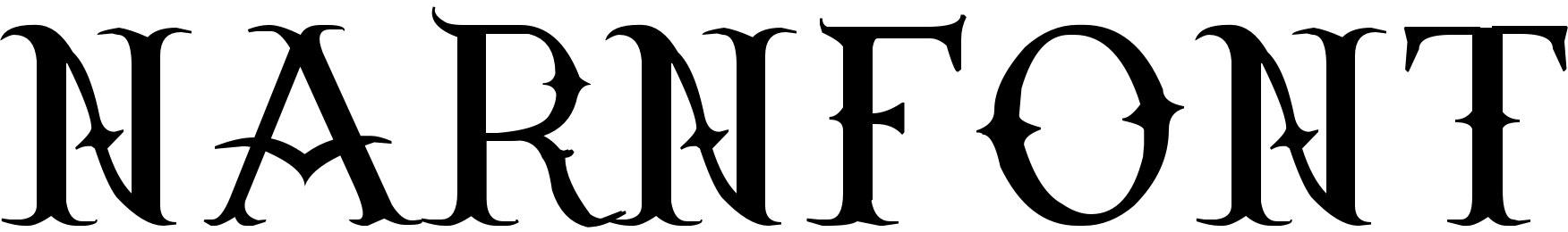 Narnfont