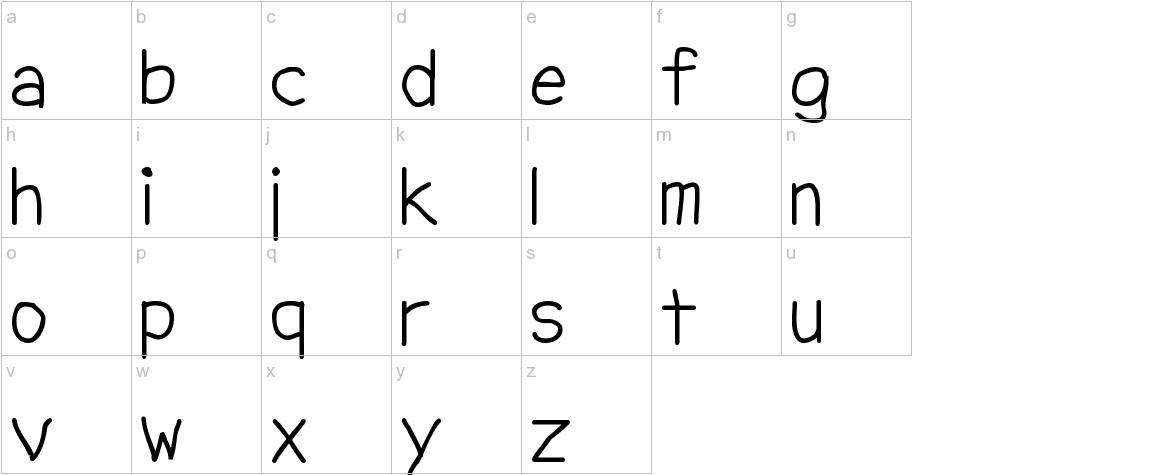 NipCen's Print Unicode lowercase