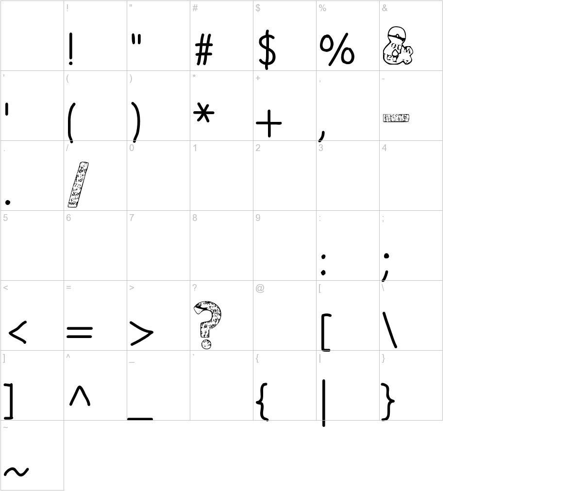 Paper-Mache characters